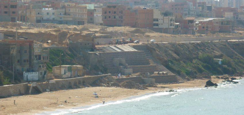 Rénovation de la route de Sidi-Majdoub