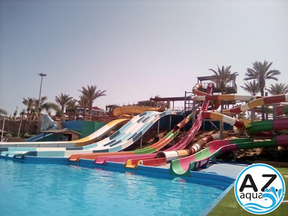AZ Aquapark Mostaganem toboggan