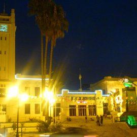 Mairie de mostaganem la nuit