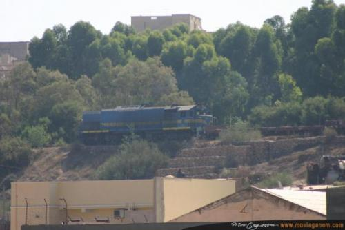 Le train mostaganem