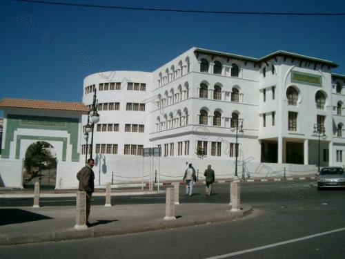 Photo Bibliothèque de l'université mostaganem