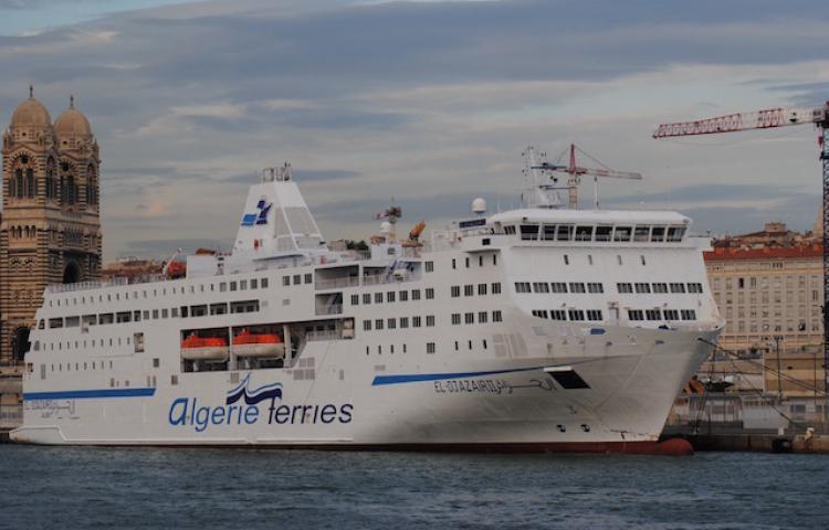 Traversee Maritime Mostaganem valence Djazair II 2 Algerie-Ferries